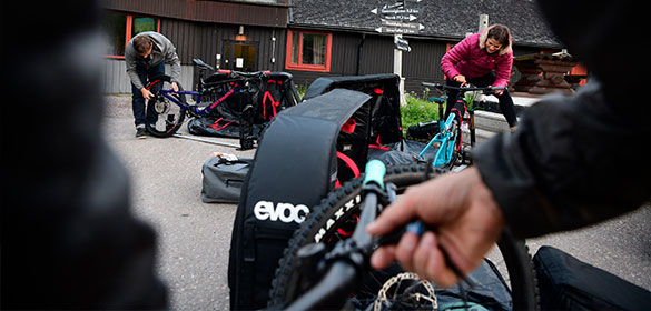 EVOC Fahrradaufbewahrung