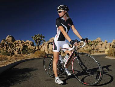 Damen Rennrad hellblau