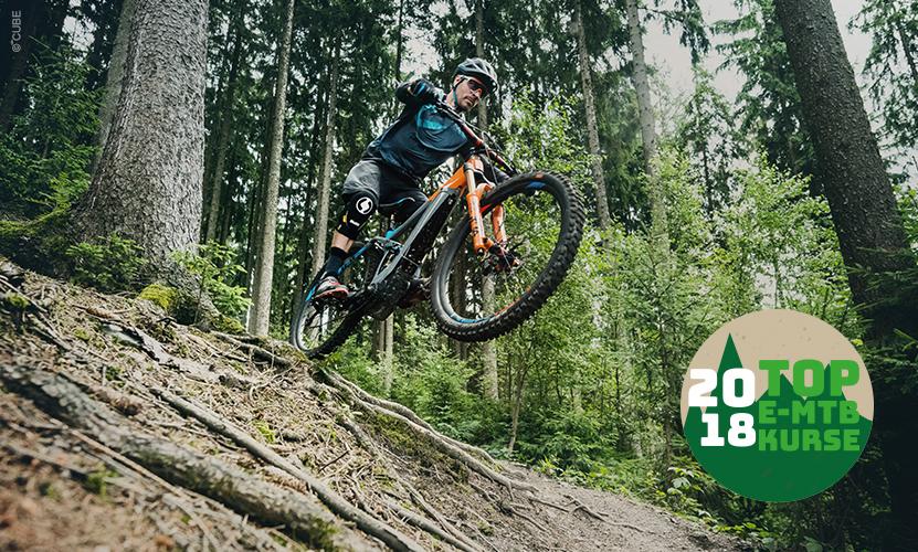 E-Mountainbike Fahrtechnik-Schulen