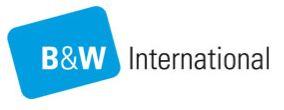 B&W International Logo