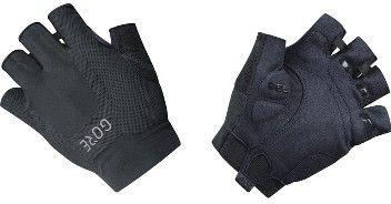Gore Kurzfingerhandschuh mit hochsaugfähiger Oberfläche in schwarz