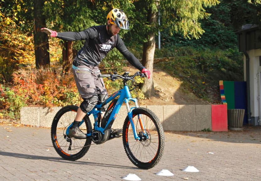 E-Mountainbike Fahrtechnik - Kurse Rock my Trail