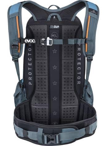Fahrradrucksack mit Hüft- und Schultergurten