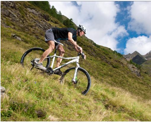 Hardtail Mountainbike 26 Zoll weiß