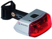 Fahrradlicht Batterie hinten LED - Rücklicht