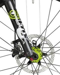 Federgabel von Fox beim Cube Stereo HPC Bike