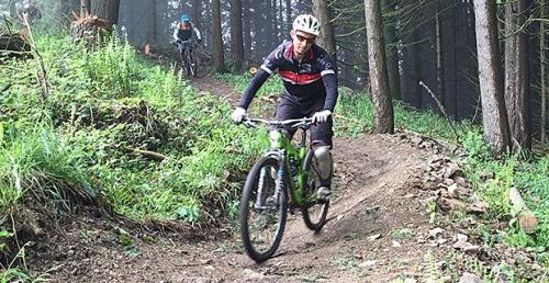 MTB Fahrtechnik Übungen Hirsch-Sprung Gondel-Trail