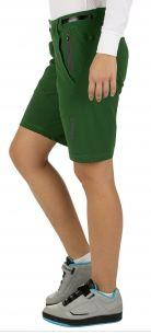 QLoom Bike Shorts für Damen in Grün