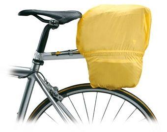 Regenschutz für die Fahrradtasche von Topeak