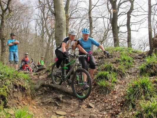 Bikeschule Go Crazy Wurzel Übung