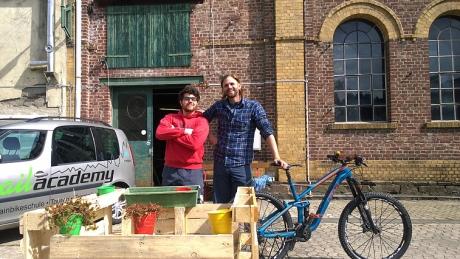 MTB Fahrtechnik Schule Trailacademy Windeck Paolo und Max