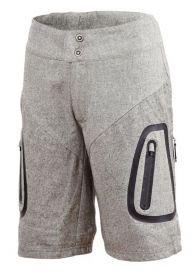 Triple2 Shorts für Damen grau