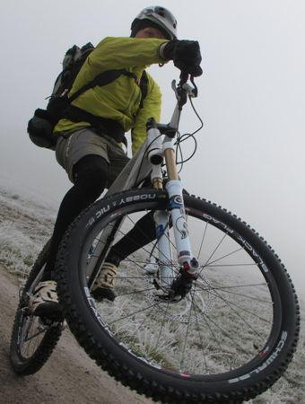 Votec Bike V.X120 Comp bei Schnee