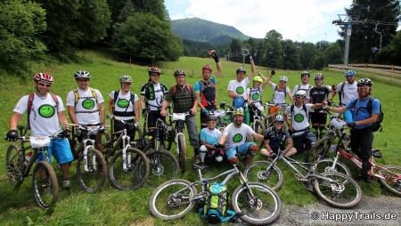 MTB Fahrtechnik Happy Trails Camp