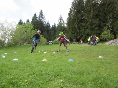 MTB Fahrtechnik Bayerwald Bike Kurs-Training