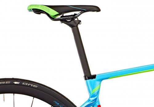 Damen Rennrad Detailansicht Sattel