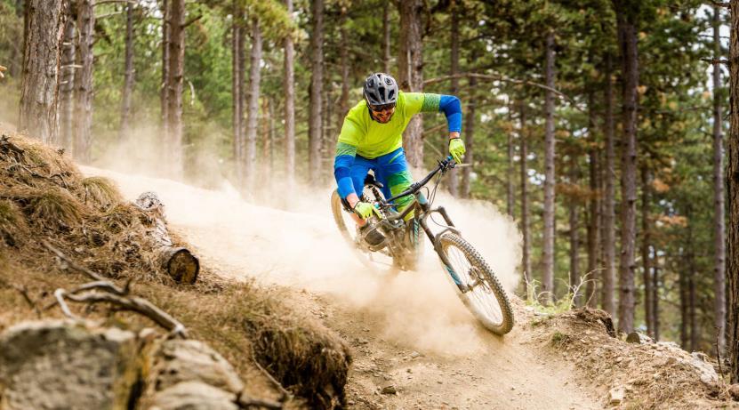 E-Mountainbike Kurse Rhoentrail
