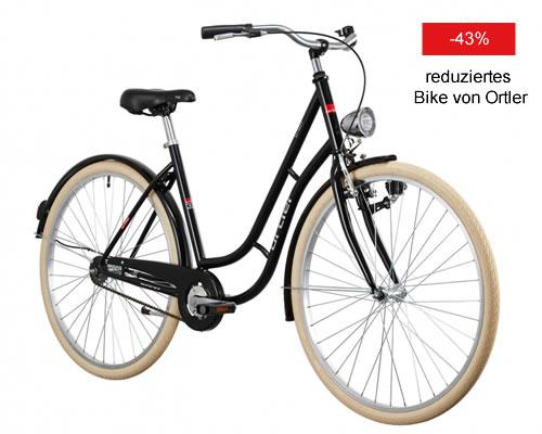 Reduziertes Ortler Bike zum Discount Preis
