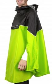 Regenponcho von Vaude in lemon