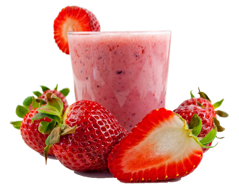 Workout Smoothie - Erdbeer Smoothie Rezept