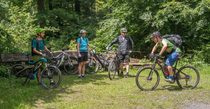 E-Bike Kurse bei TrailXpert