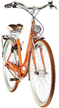 Retro Fahrrad von Diamant in der Frontansicht: Das Topas Villiger