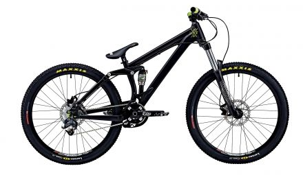 Freeride Bike UMF Slope Team schwarz